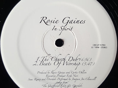 """Rosie Gaines - In Spirit - 12"""" Vinyl Release main photo"""