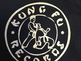 Kung Fu Records How Long T-Shirt - Includes New CD Sampler with Purchase photo