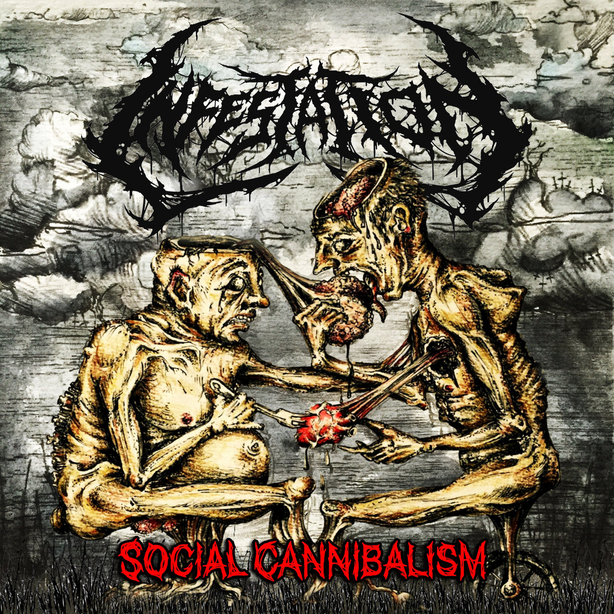 cannibalism CD: INFESTATION - Social Cannibalism