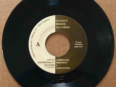Capriccio, Magnant & Associates 45 (Vinyl) main photo