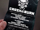 Crash & Burn Vol. 1 cassette photo