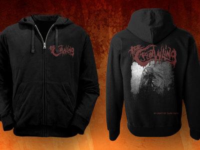 'DARK DAYS' zipped hoodie main photo