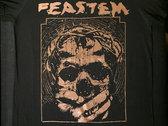 Herätkää! T-shirt (bronze on black) photo