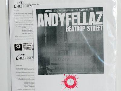 AndyFellaz - BeatBop Street (Test Pressing) main photo