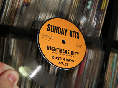 """Nightmare City (Limited Edition 7"""" Square Lathe Cut) main photo"""