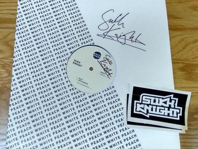 "WPR013 - 'Nightcrawler / Beast' - 12"" Vinyl + Stickers - SIGNED main photo"