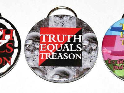 Truth Equals Treason bottle opener main photo