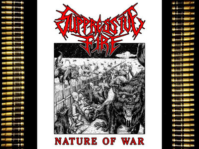 Nature of War - T Shirt (S, M, L, XL) (Free album download included) main photo