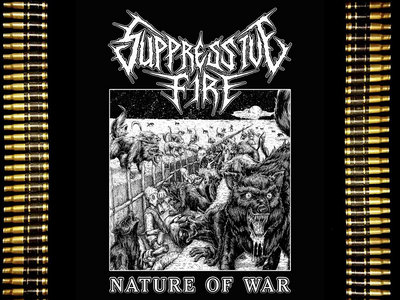 Nature of War - (S, M, L) (Free album download included) main photo