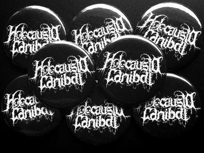 "Button ""Holocausto Canibal Logo"" main photo"