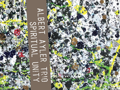 "Albert Ayler Trio ""Spiritual Unity"" Limited Edition Cassette Album PAESP-001 main photo"