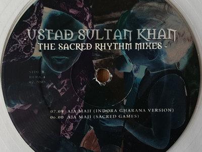 "Ustad Sultan Khan - 12"" Clear Vinyl Release! main photo"