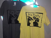 """YELLOW/GREY """"I HAVE NO TIME"""" T-SHIRT photo"""