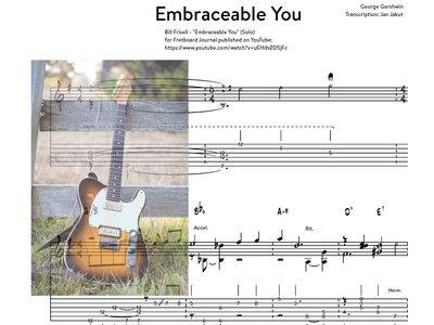 Embraceable You - Bill Frisell (solo) transcription main photo