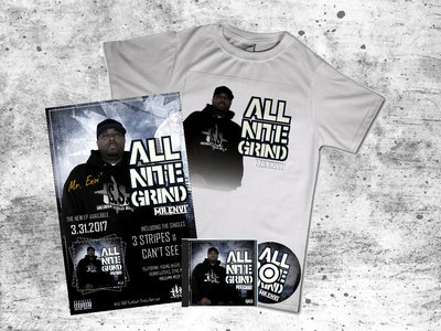 All Nite Grind - T-Shirt+CD+Autographed Poster main photo