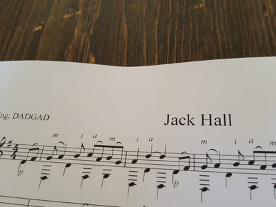Jack Hall TAB PDF main photo