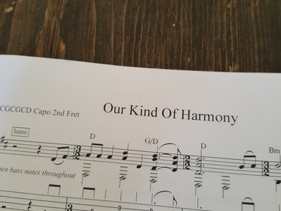 Our Kind Of Harmony TAB PDF main photo