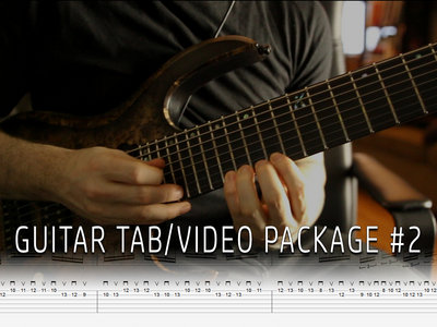 Guitar Tab/Video Package #2 main photo