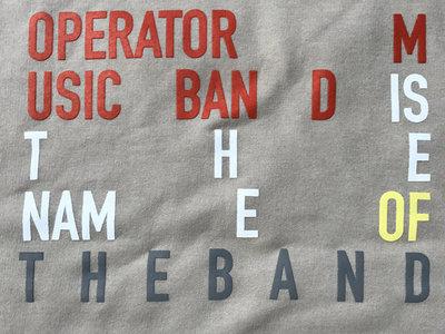 """The Name of the Band"" Sweatshirt main photo"