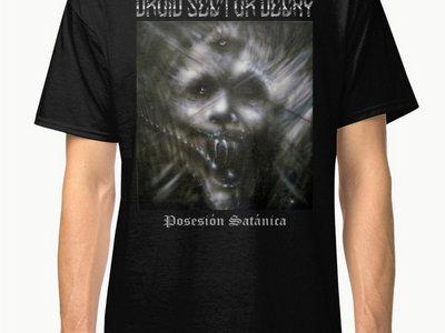 DROID SECTOR DECAY - Posesión Satánica t-shirt main photo