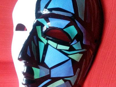 """PdO """"Il Corponauta"""" hand-made mask + pin + IL CORPONAUTA free download main photo"""