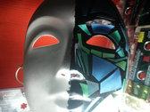 """PdO """"Il Corponauta"""" hand-made mask + pin + IL CORPONAUTA free download photo"""