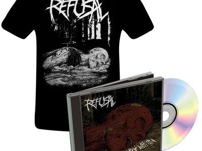 We Rot Within t-shirt + CD combo main photo
