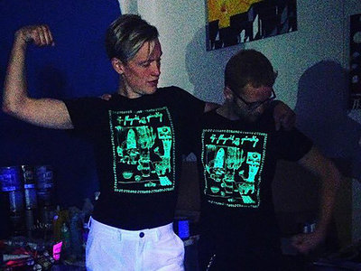 cool T-shirt (glows in UV light) main photo