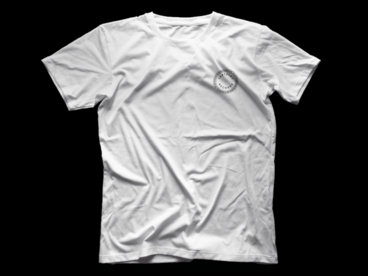 Wayne Snow 'Freedom TV' limited edition t-shirt (white with black print) main photo