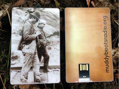 Muddy Boots - USB Wallet Card (4GB) main photo