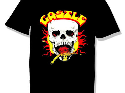 """*NEW """"Flaming Skull"""" T-Shirt main photo"""
