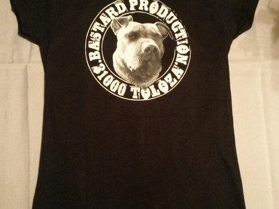 T-Shirt Noir FEMME Bastard Prod main photo