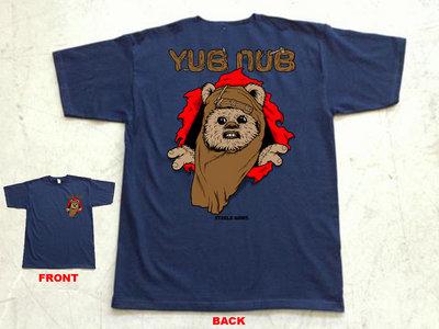 "Steele Wars ""Yub Nub"" navy t-shirt main photo"