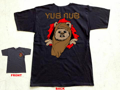 "Steele Wars ""Yub Nub"" black t-shirt main photo"