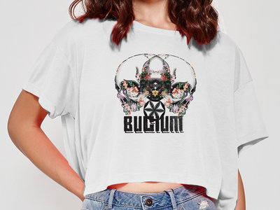 Girlie - Skulls - White t-shirt - Cella main photo