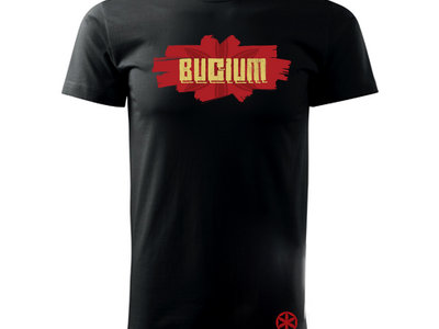 Man - Bucium Logo - Black T-shirt main photo