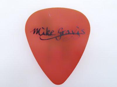 Orange Guitar Pick (set of 2) main photo