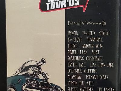 Original Warped Tour 2003 Film DVD Includes FREE CD Sampler & KFR Button main photo