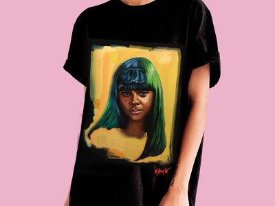 """""""Trendsetter"""" Oversized T-Shirt Dress main photo"""