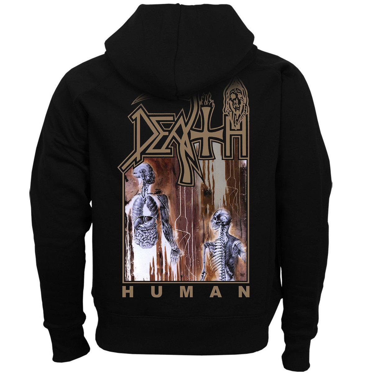 Human Zip Up Hoodie Death