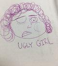 ugly girl image