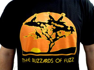 "The Buzzards of Fuzz ""Four Birds in the Desert"" Silkscreen T-Shirt! main photo"