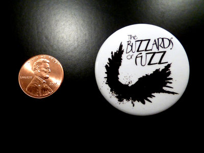 "The Buzzards of Fuzz ""Steadman"" Button Pin! main photo"