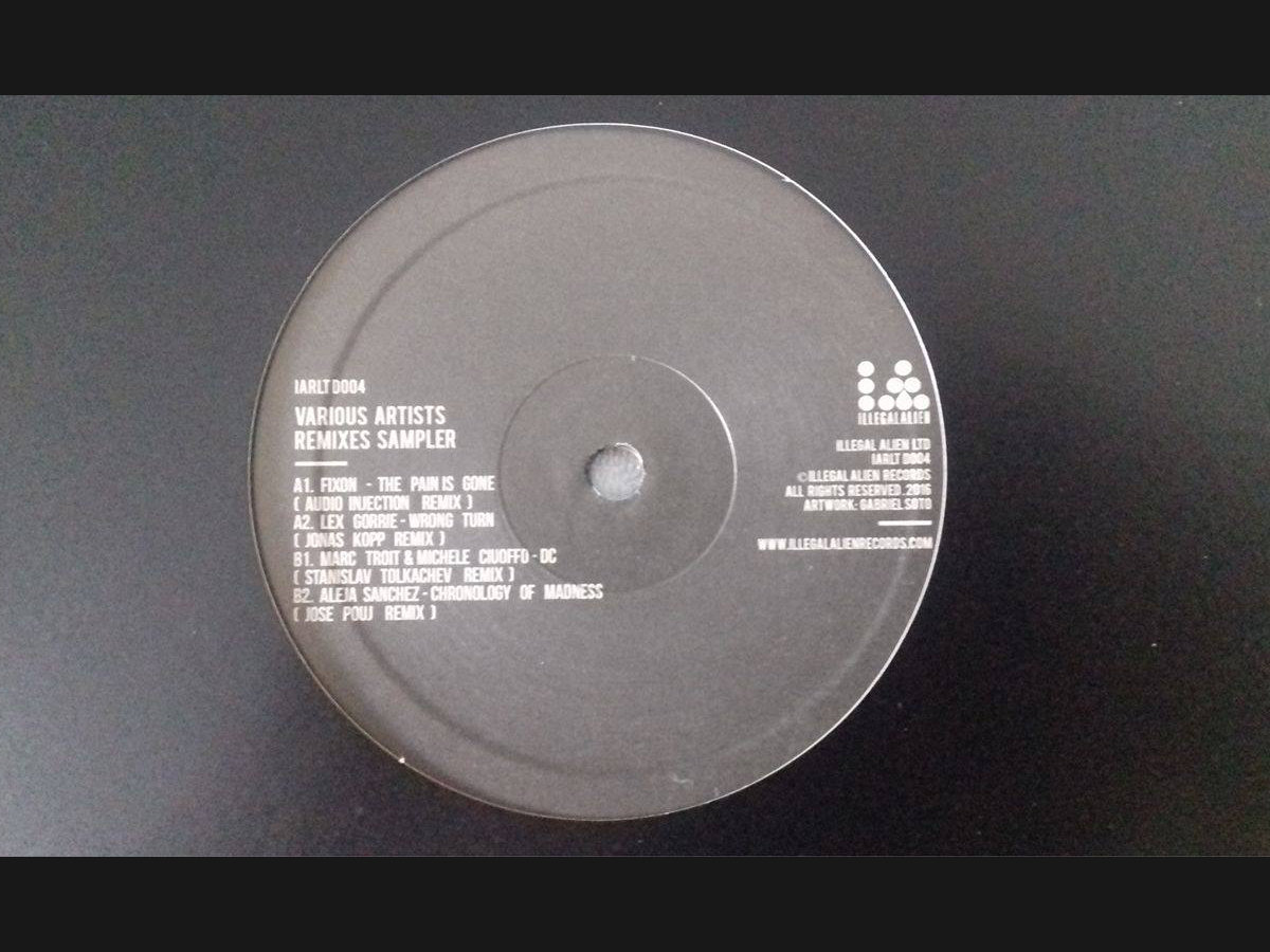 Remixes Sampler VA   Illegal Alien LTD