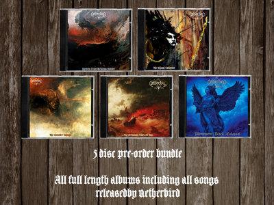 The Netherbird album CD collection (5 discs) main photo