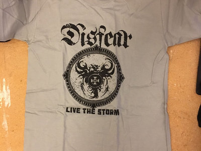 Live The Storm Cover T-shirt Grey main photo