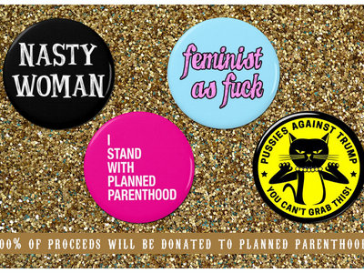 Feminist Button Pack main photo