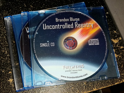 Uncontrolled Reentry Single CD main photo