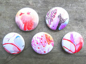 Buttons pack of 5 designs photo