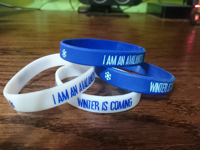 "Special Snowflake ""I Am An Avalanche"" / ""Winter is Coming"" Wristband main photo"